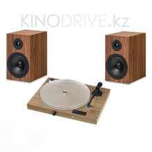 Комплект Pro-Ject Jukebox S2 + Speaker Box 5 S2 Орех